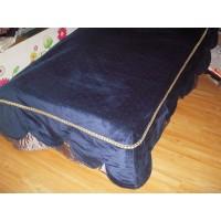 Prekrivač plavi pliš